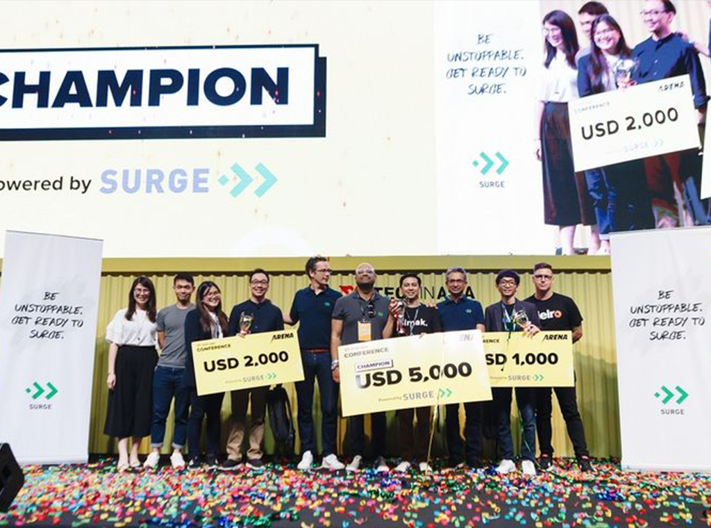 Startup Asal Indonesia Juara Pertama dan Ketiga Arena Pitch Battle Tech in Asia