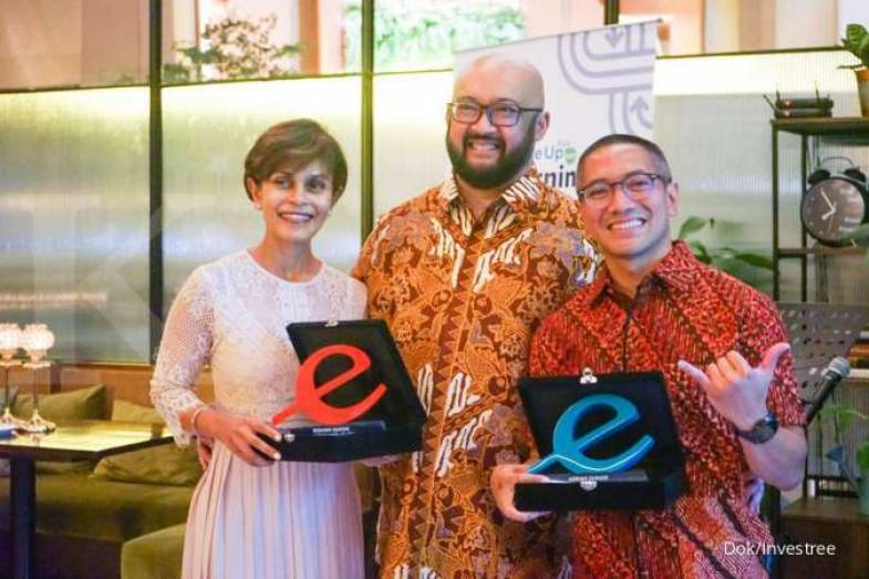 CEO Investree Adrian Gunardi Terima Penghargaan sebagai 2019 Endeavor Entrepreneur of The Year