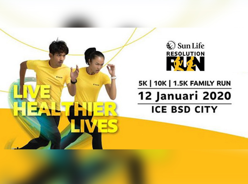 Sun Life Financial Bakal Gelar Sun Life Resolution Run 2020