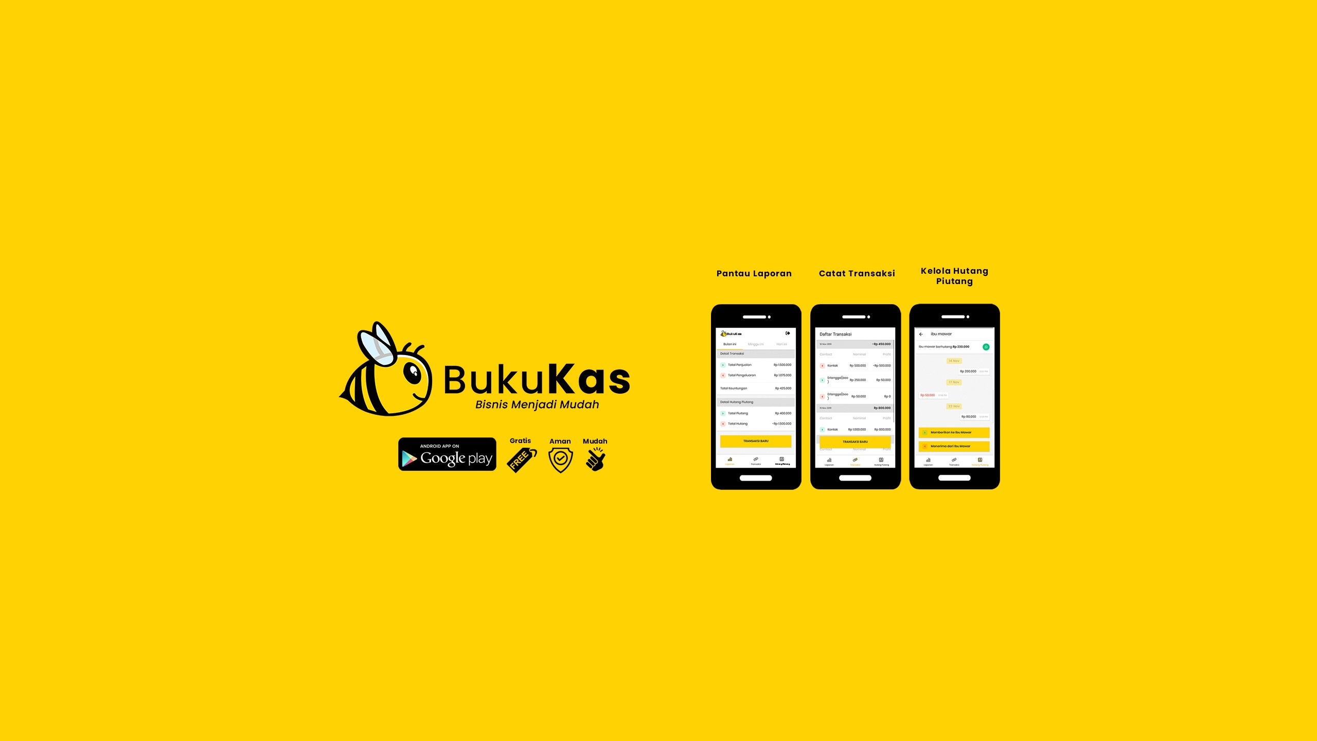 BukuKas Startup Received pre-Series A Funding from Several Investors