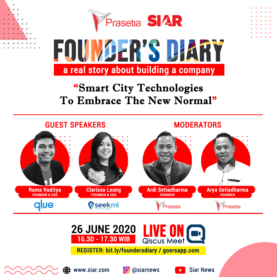 founder's diary , talkshow , smart city , covid19 , pandemic , technology