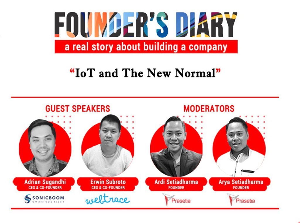 founders diary , creative industry , technology , startup , software , digital , talkshow